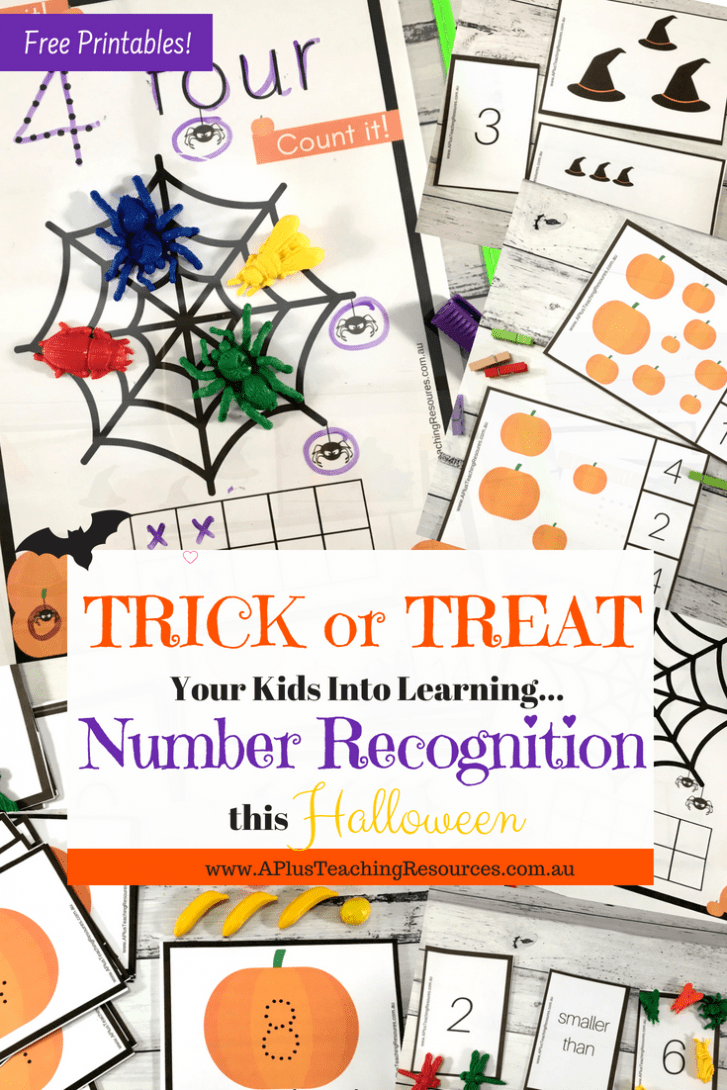 Halloween Number recognition