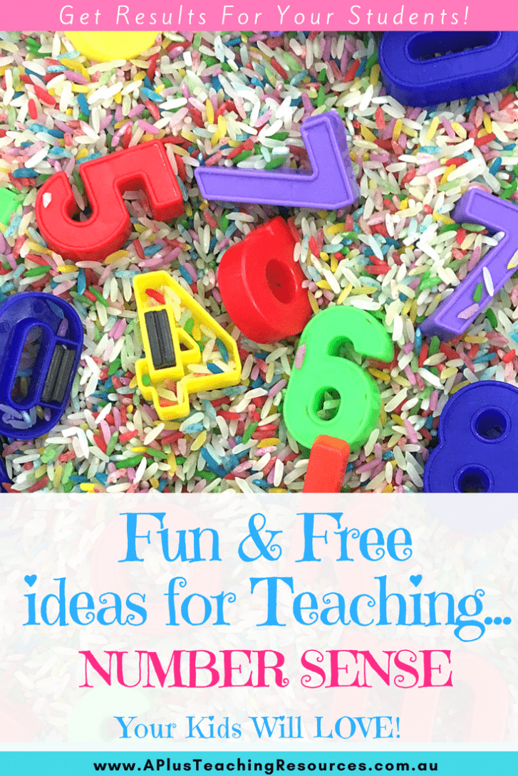 Ideas for free number sense activities
