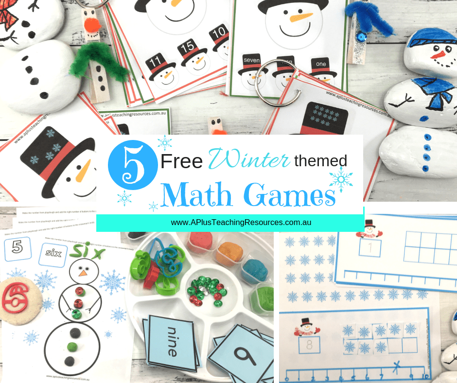 5 free winter themed games for kids