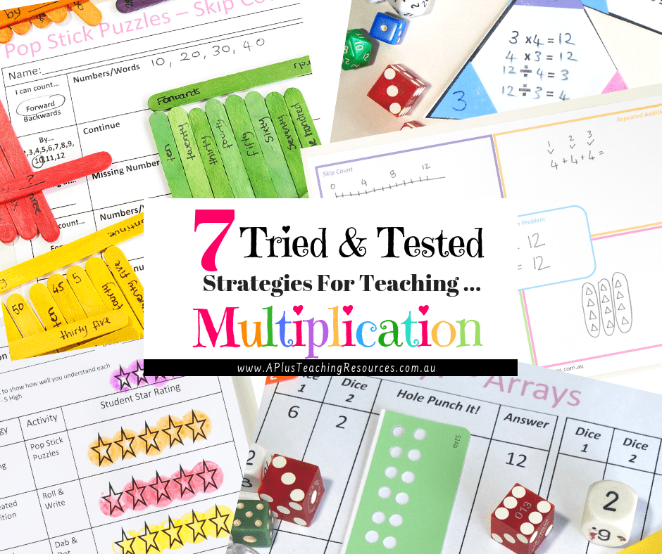 Activities For teaching Multiplication