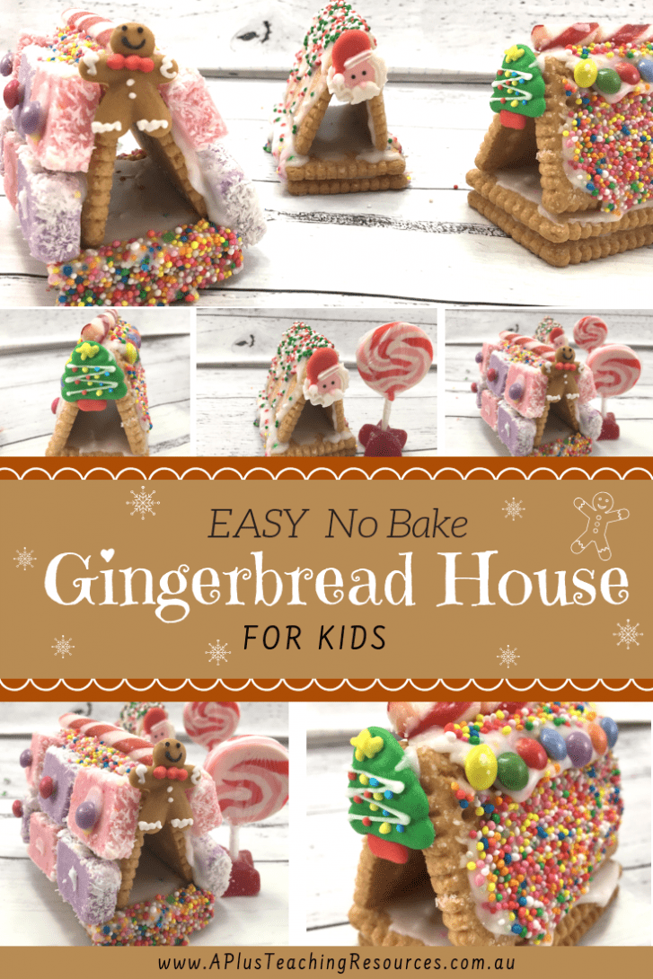 Gingerbread houses alternatives for kids
