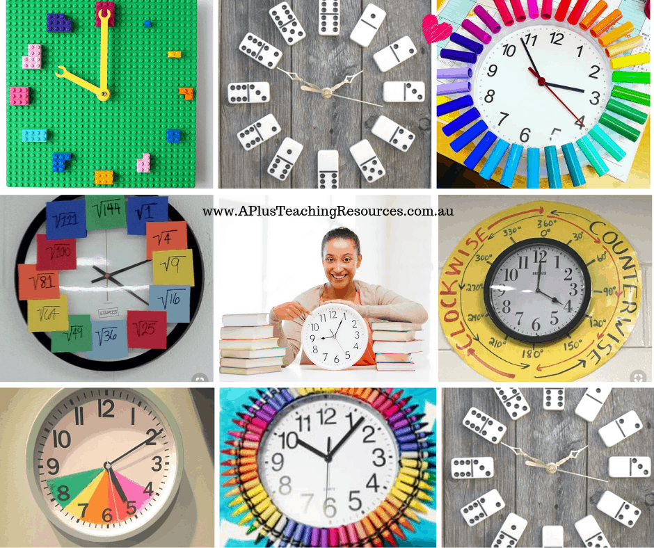 Classroom Clock Ideas For Teachers