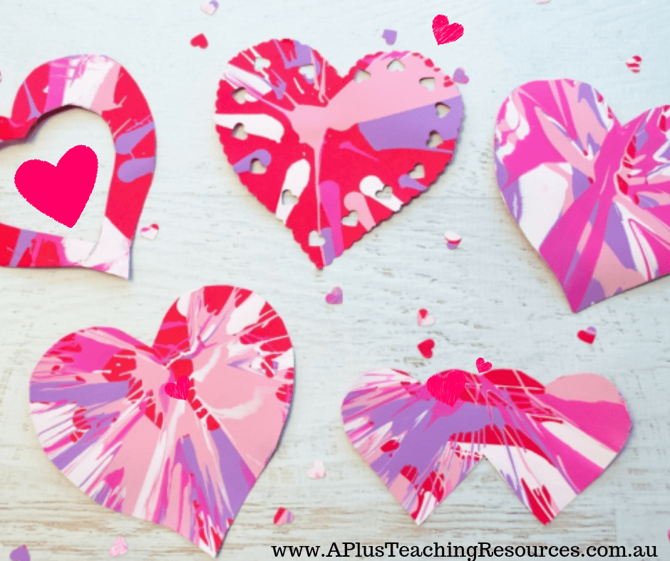 Valentines Day Heart Card Crafts For Kids