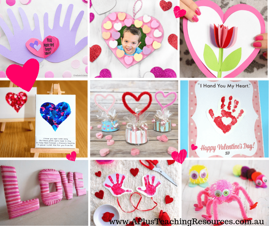 Valentines Day Activities For Kids To Make