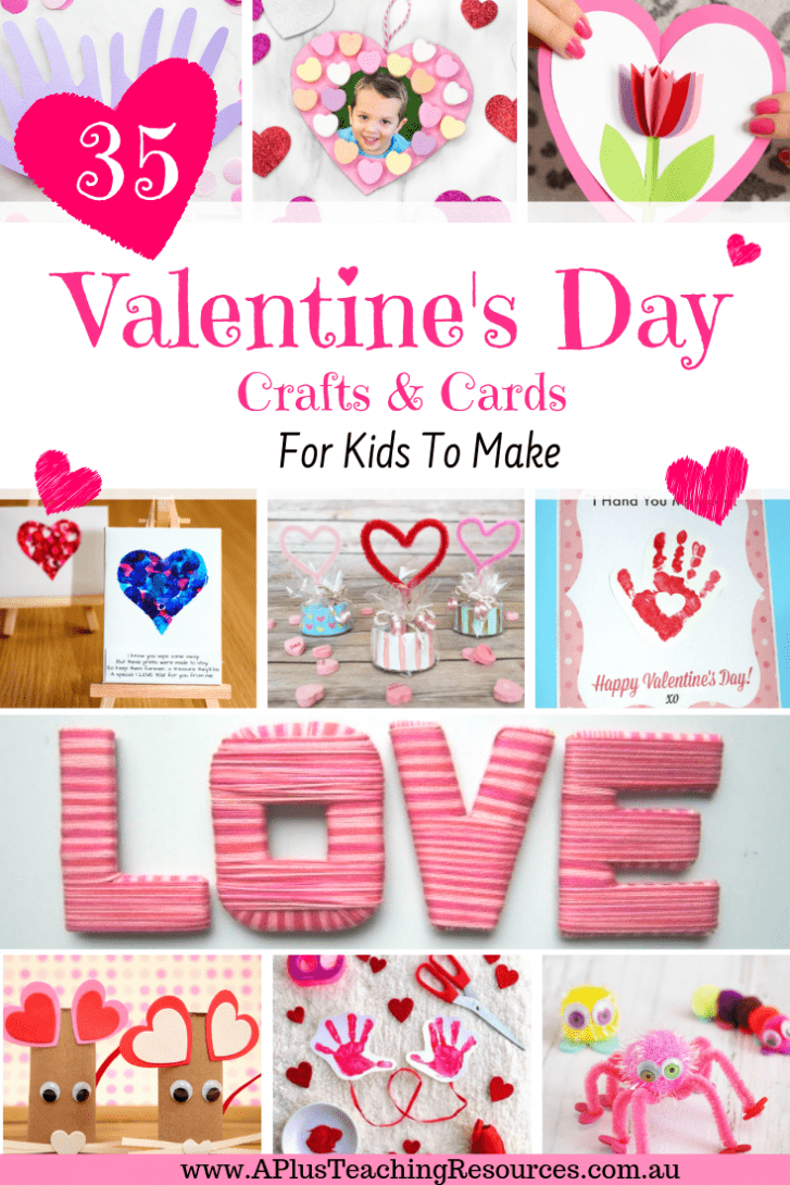 35 Valentines Day Activities For Kids