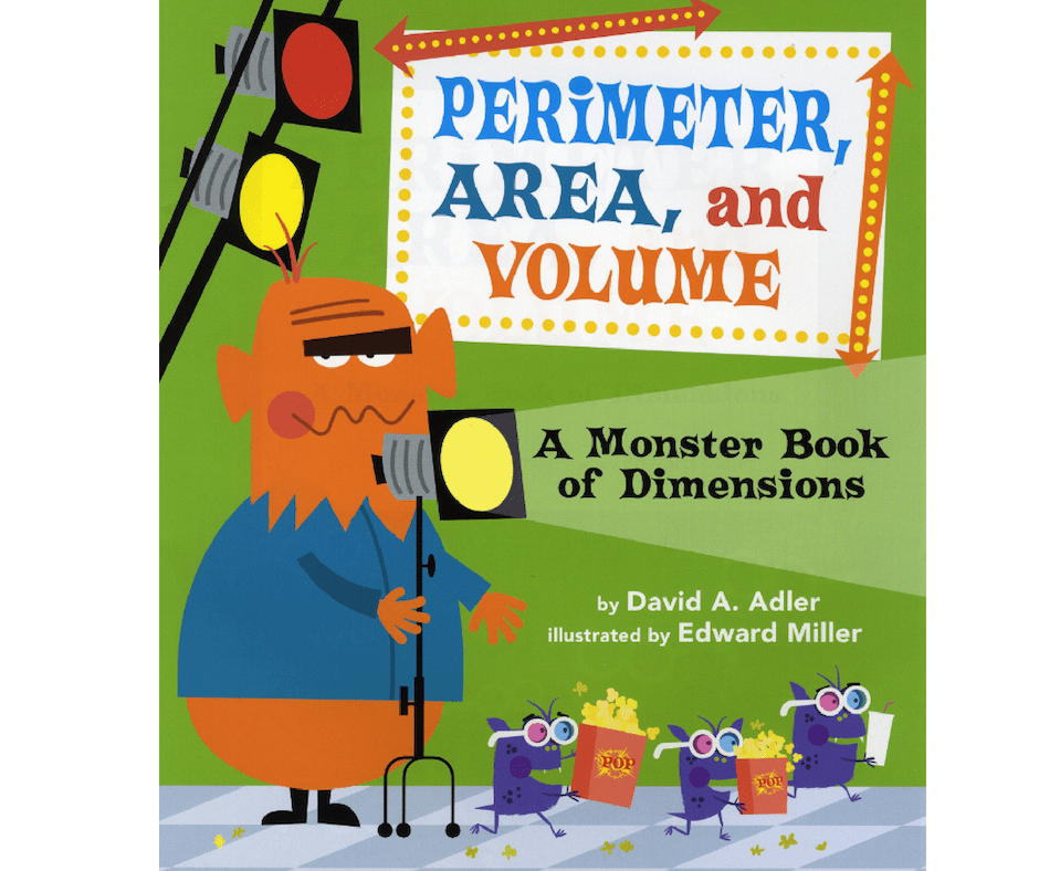 Perimeter and area Children's Books about measurement