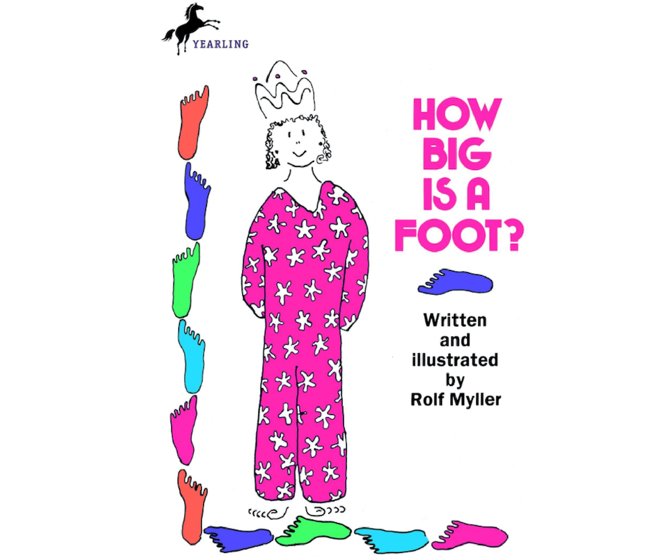 Book about length - How Big is a foot