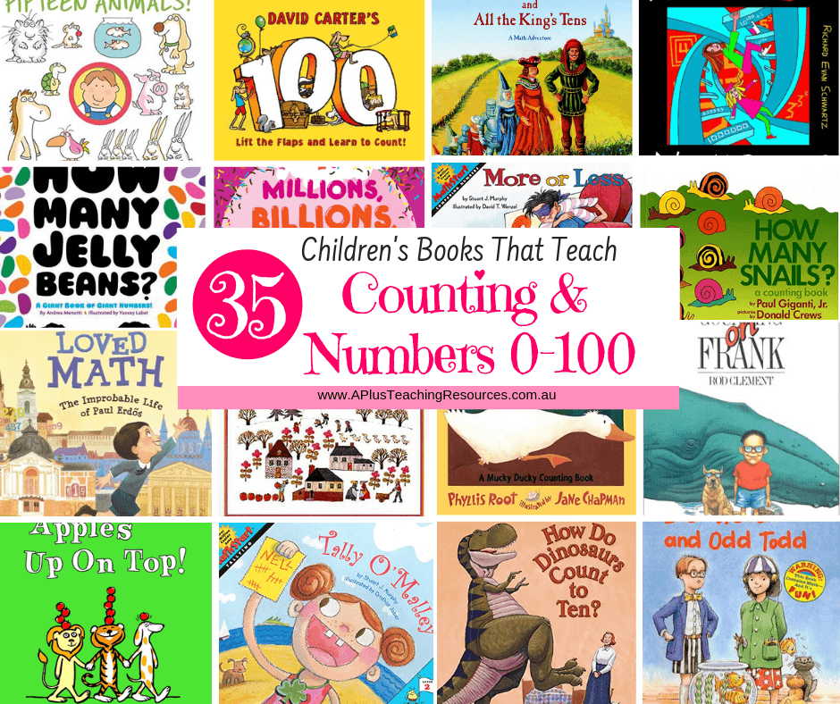 Kids Books For Teaching Numbers 0-100