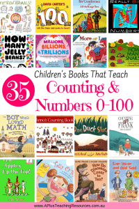 Children's Books For Teaching Numbers 0-100