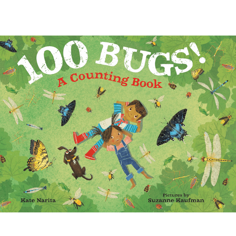 100 bugs Counting Book For Kids
