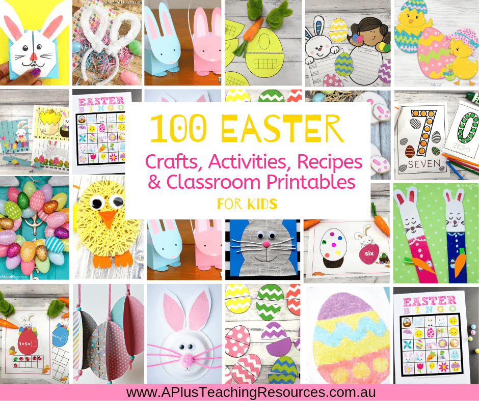 100 Easter Activities For Kids {Printables, Crafts, & Recipes}