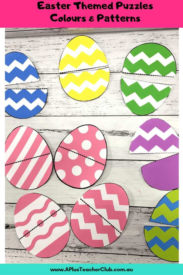 Colour matching eggs math game