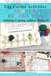 Egg Carton Activities Pack