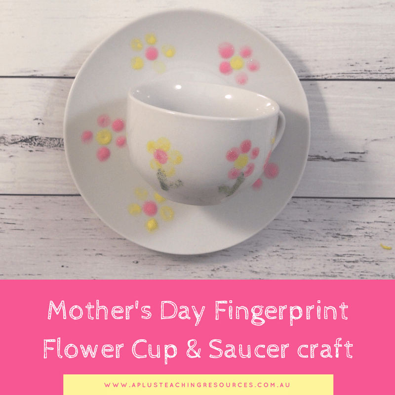 Mother's Day Cup with saucer