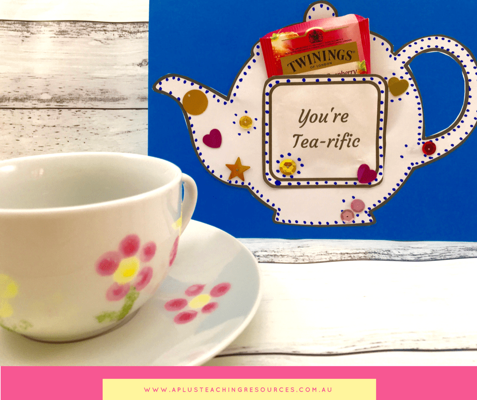 Teapot craft printable