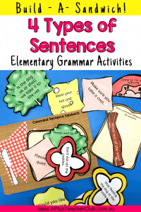 types of sentences printables image