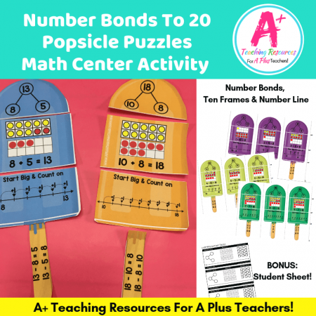 Number Bond Popsicle Puzzles
