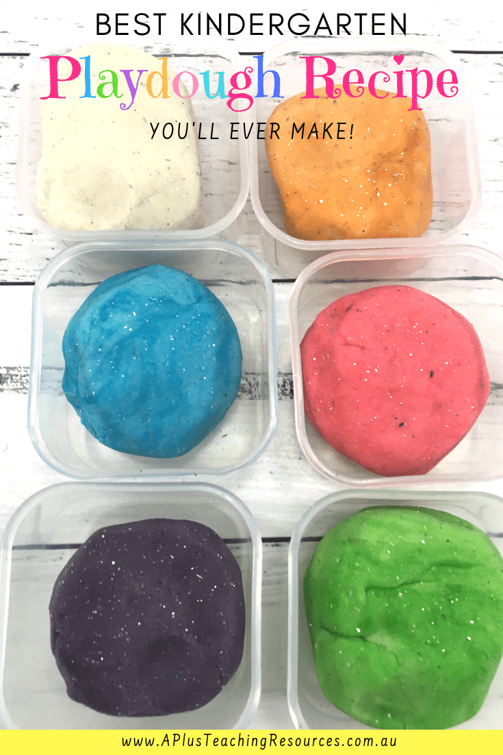 Cooked Playdough recipe