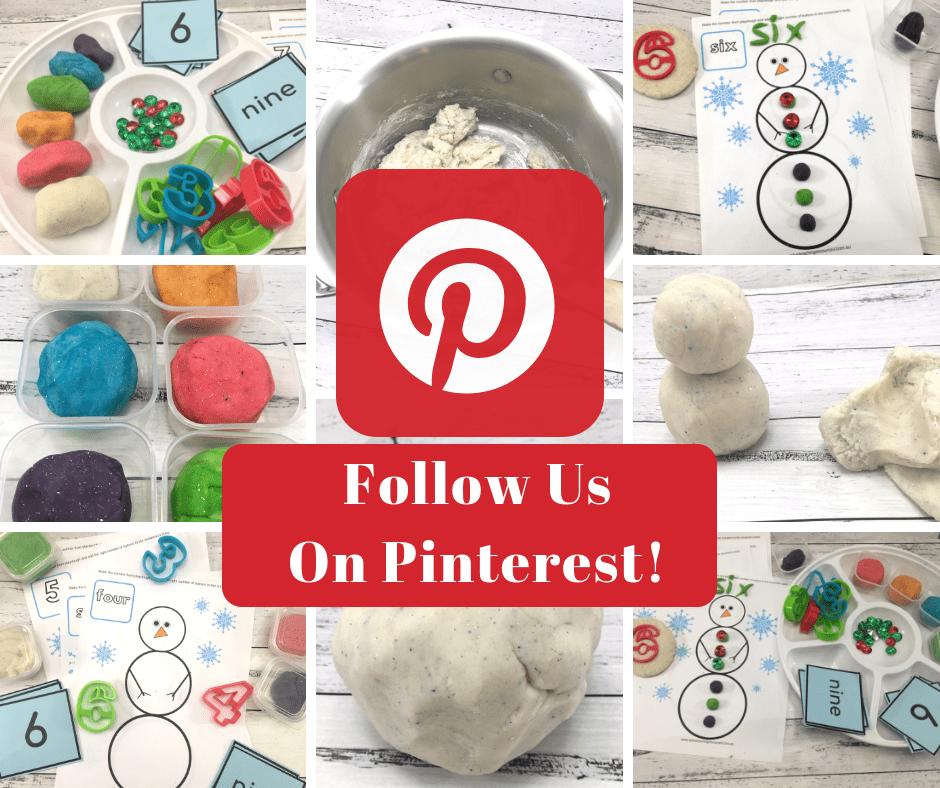 Christmas Playdough Pinterest