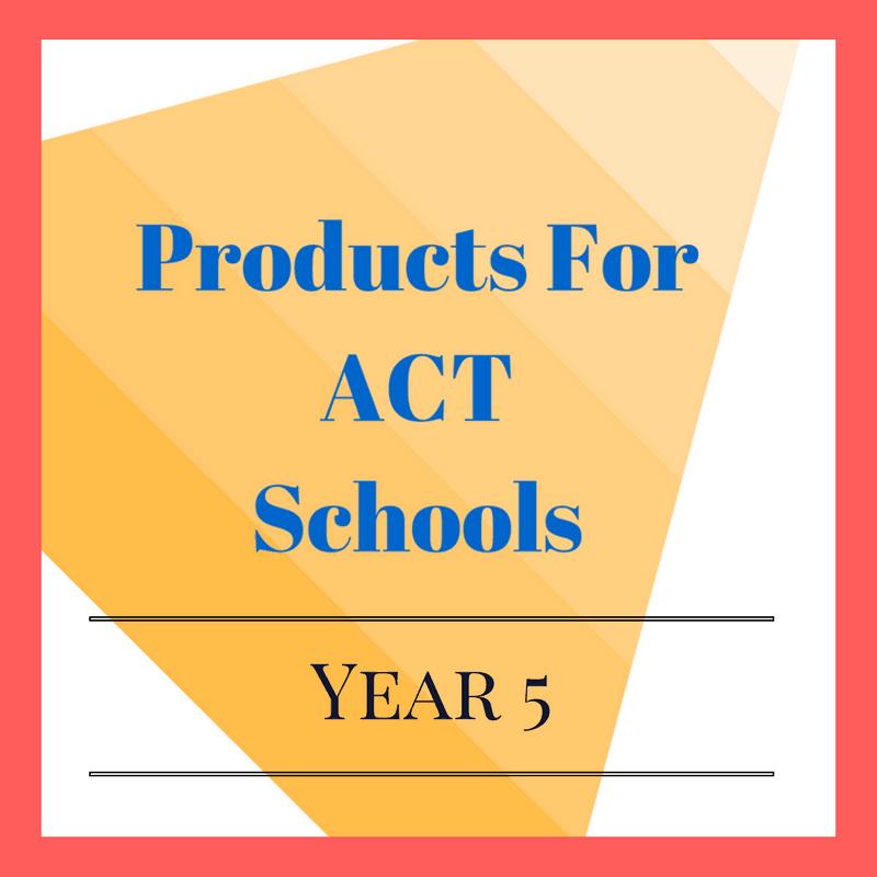 Year 5 ACT