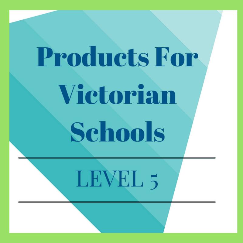 Victorian Curriculum Level 5