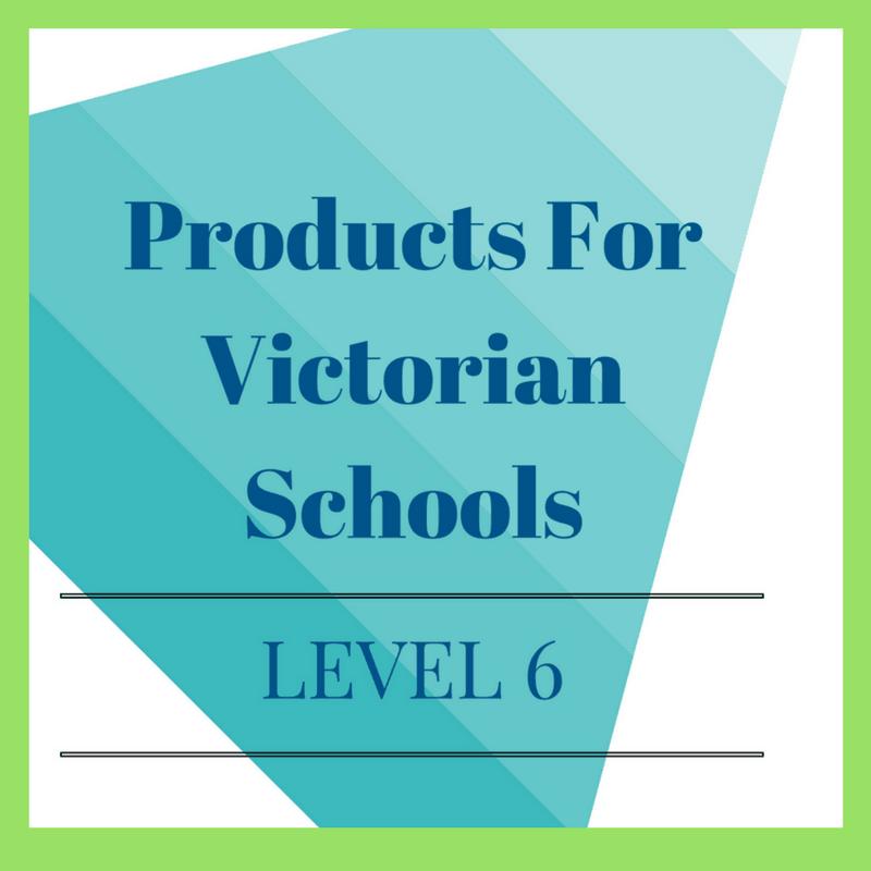 Victorian Curriculum Level 6