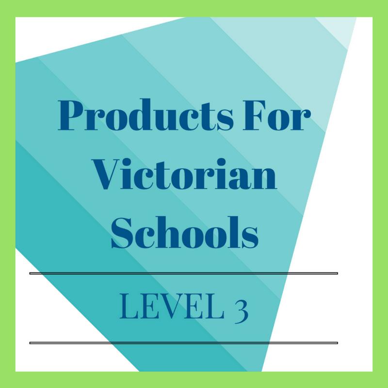 Victorian Curriculum Level 3