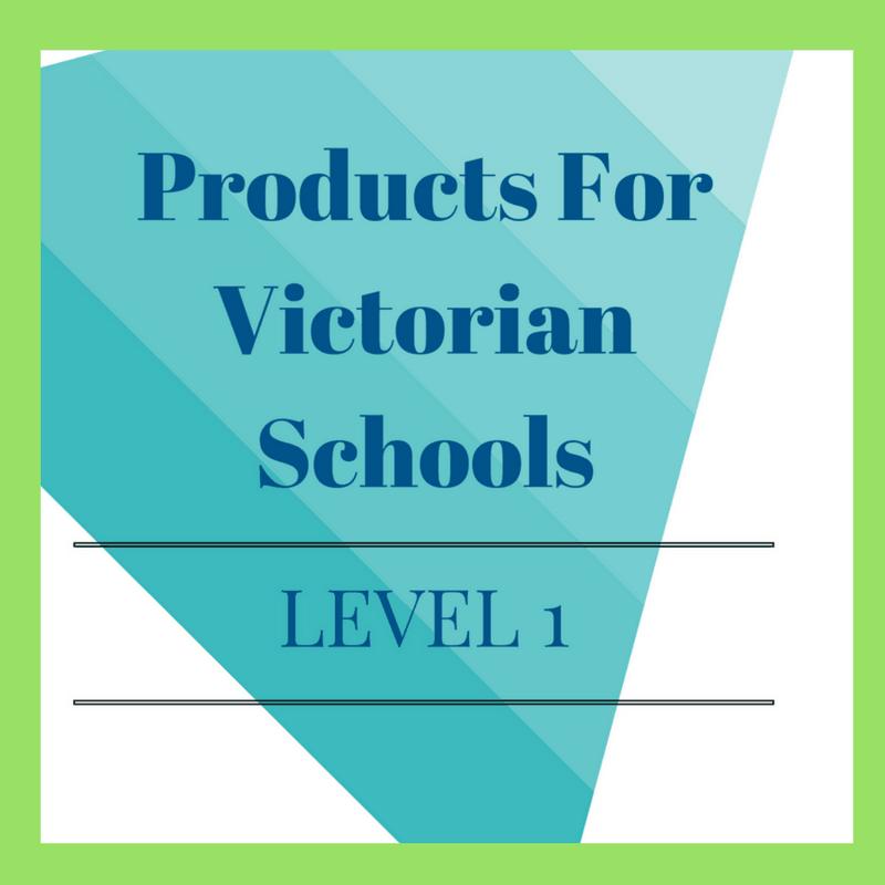 Victorian Curriculum Level 1