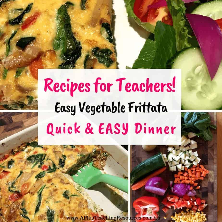 Easy Vegetable Frittata Recipe