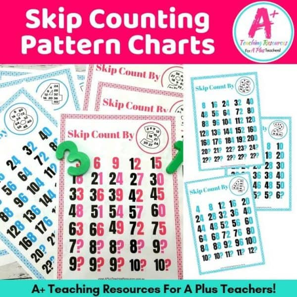 Skip Counting Classroom Posters image of product