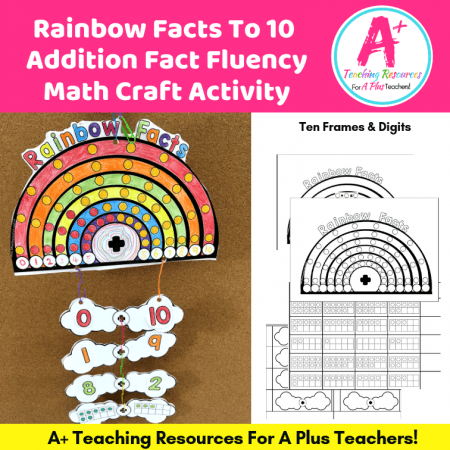 Rainbow Facts Craft product image