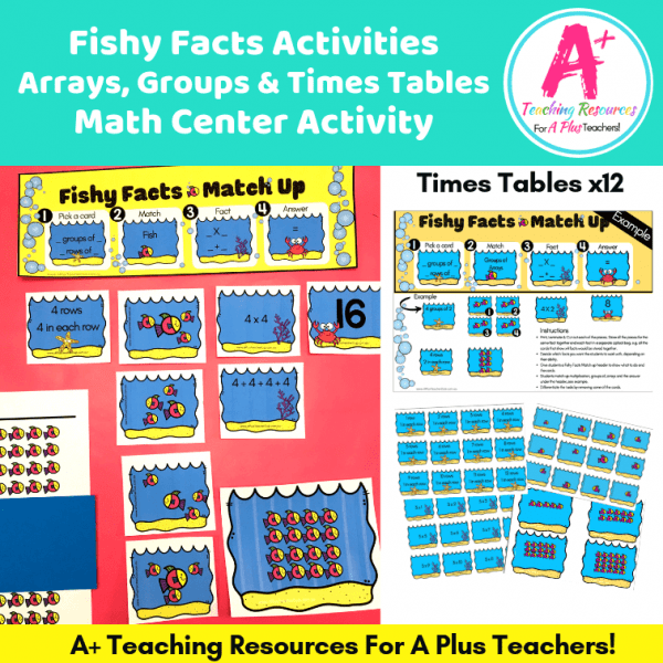 Multiplication Games Printable Product Image
