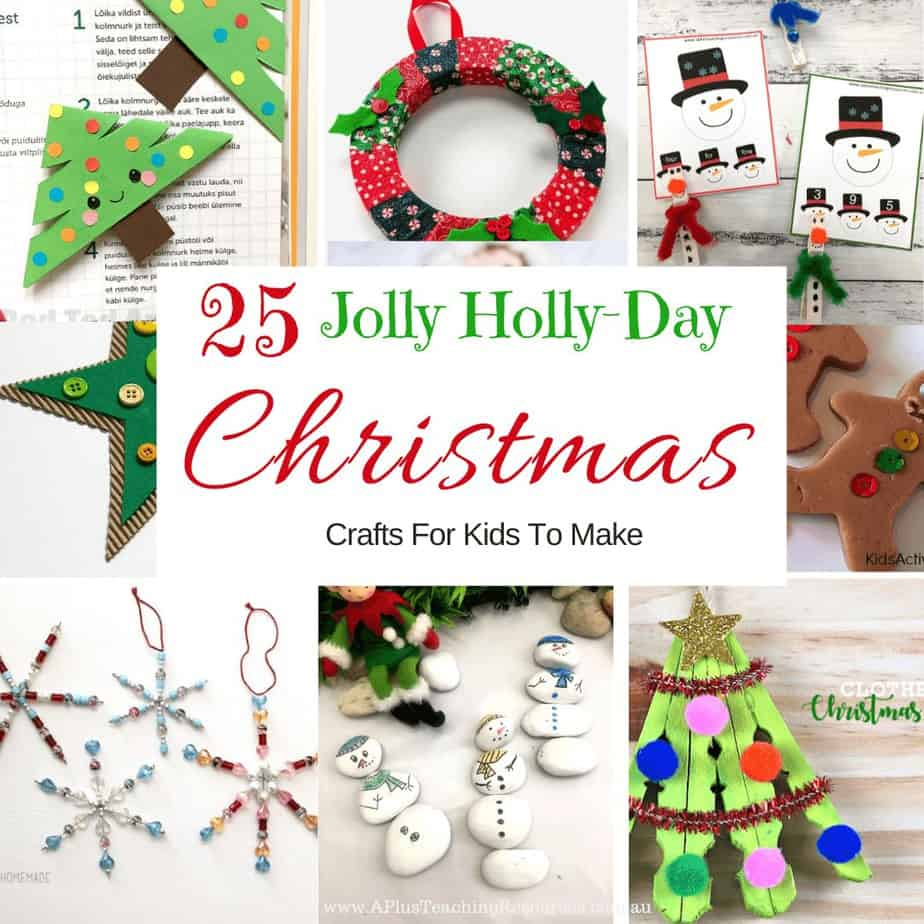 Easy Christmas Classroom Crafts For Kids
