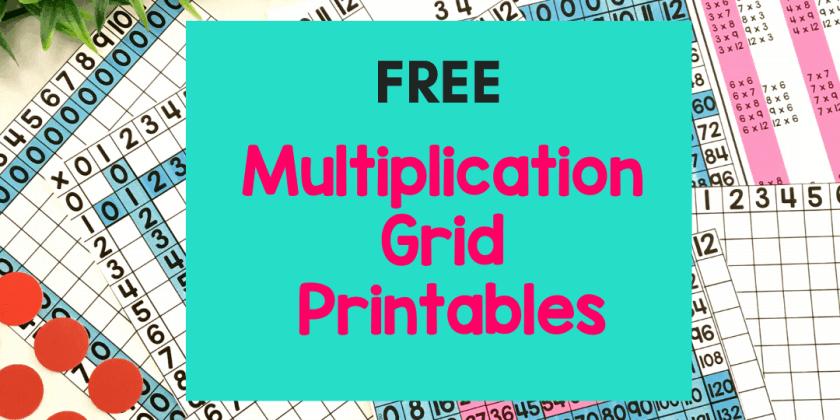 Printable Multiplication Tables {Essential Tips & Tricks!}