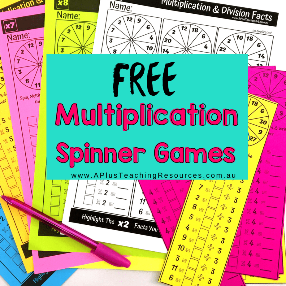 Must Have FREE Printable Multiplication Games