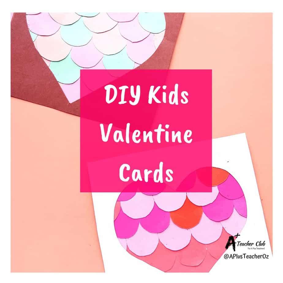 DIY Kids Valentine Cards {Classroom Craft}