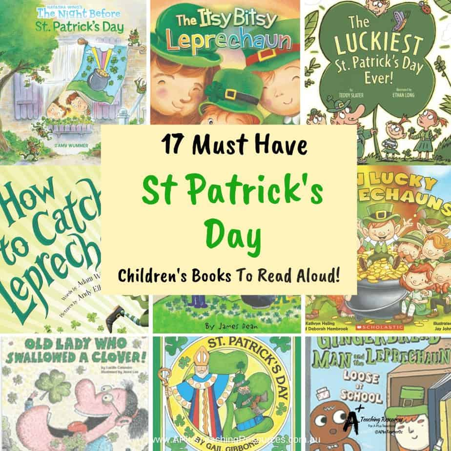 St Patrick's Day Books For Kids {Must Have Picture Books!}