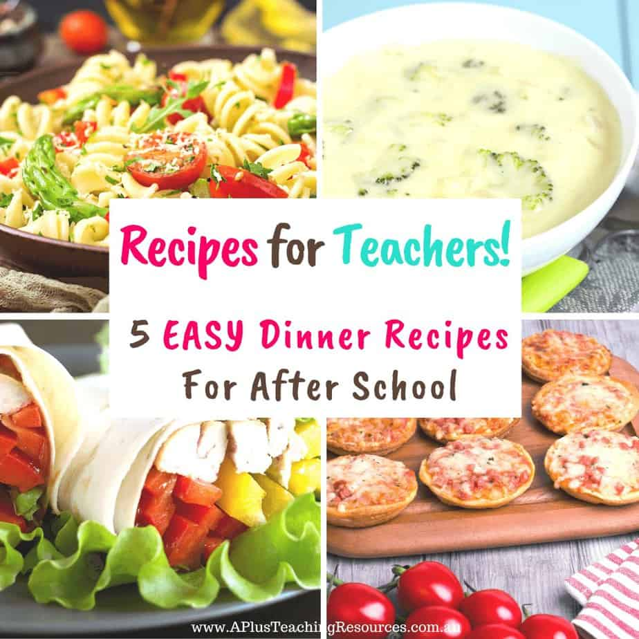 Easy Dinner Recipes You Can Whip Up On A School Night