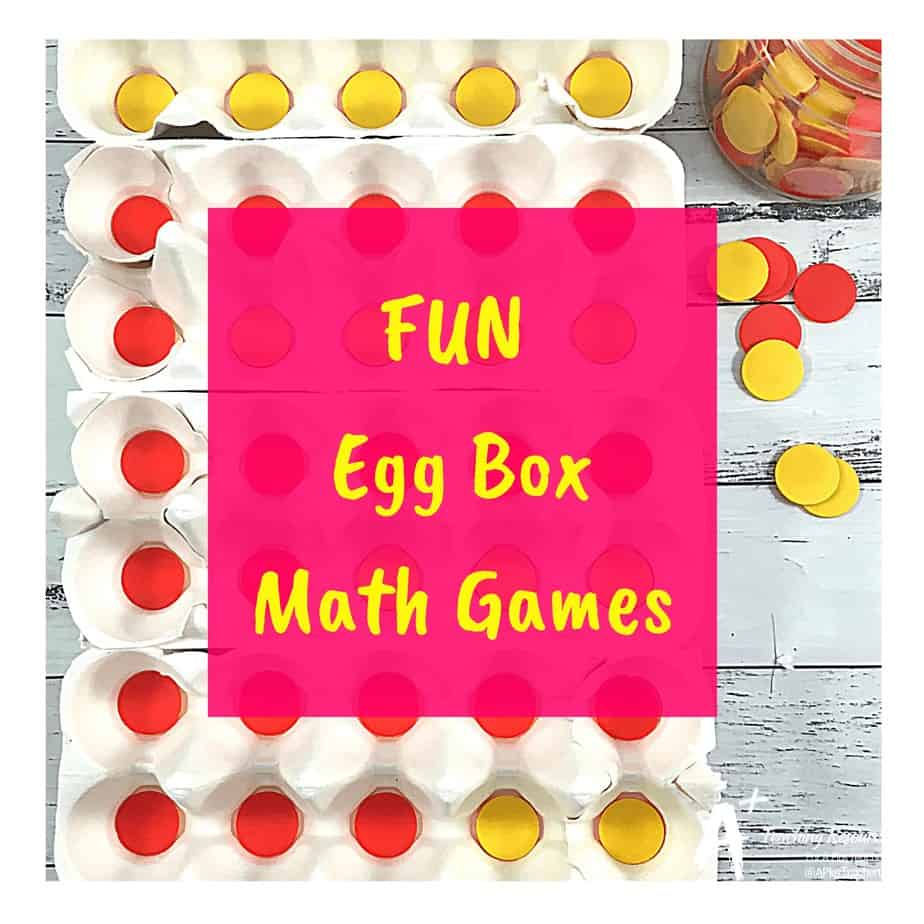 Clever Egg Carton Maths Activities {Hands-on Learning}