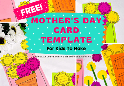 Gorgeous Mothers Day Card Template For FREE